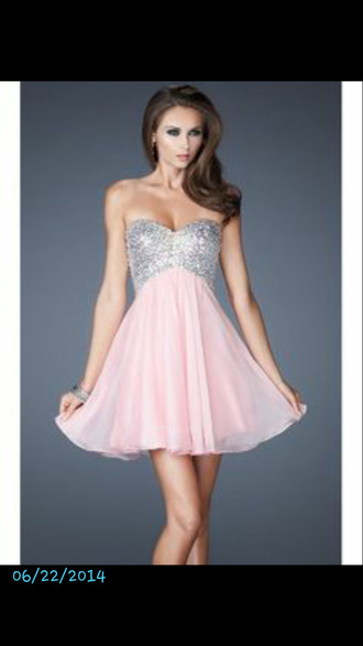 dress pink dress ball gown dress cute dress sparkly dress pink silver silver dress party dress homecoming dress homecoming short homecoming dress homecoming dress chiffon 2016 homecoming dresss homecoming dresses 2016 cocktail dress short party dresses short prom dress 2016 short prom dresses