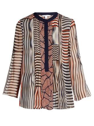 blouse orange top