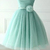 Fresh Mint Sweet Short Tulle Bridesmaid Dresses KSP326 [KSP326] - £119.00 : Cheap Prom Dresses Uk, Bridesmaid Dresses, 2014 Prom & Evening Dresses, Look for cheap elegant prom dresses 2014, cocktail gowns, or dresses for special occasions? kissprom.co.uk offers various bridesmaid dresses, evening dress, free shipping to UK etc.