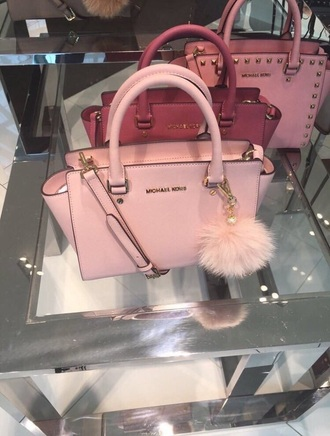 bag michael kors michael kors bag light pink