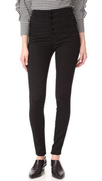 J Brand Natasha Sky Skinny Jeans in black