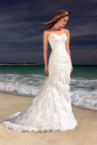 wedding clothes wedding dress beach wedding beach wedding dress white wedding dress