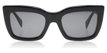 Celine deep square sunglasses : deep square black 807bn : uk