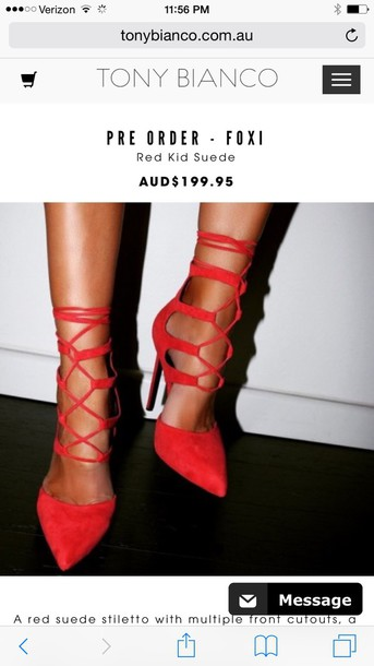 shoes tony bianco
