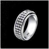 jewels,rotatable ring,925 sterling silver,.925 sterling silver jewelry