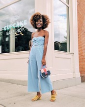 shoes,sandals,yellow sandals,pants,top,two-piece