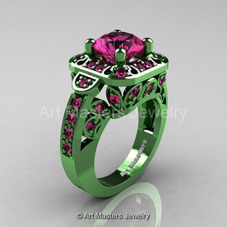 jewels green gold gold pink sapphire sapphires wedding ring original engagement ring 2 carat sapphire engagement ring classicengagementring pinkandgreen luxurious ring classy wedding