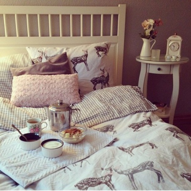 home accessory bedding pillow bedroom bedding deer