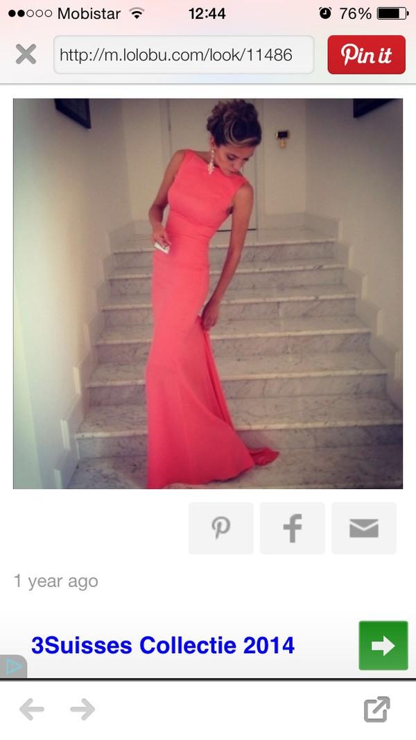 pink dress thight dress bodycon dress maxi dress dress