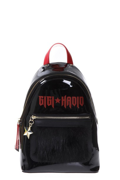 Tommy hilfiger backpack black red bag