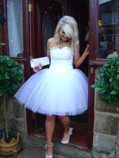 dress,princess,white