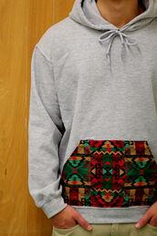 jacket,tribal pattern,guys,hoodie,sweater,tribal hoodie,tribal sweater