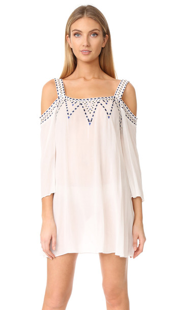 Shoshanna dress white
