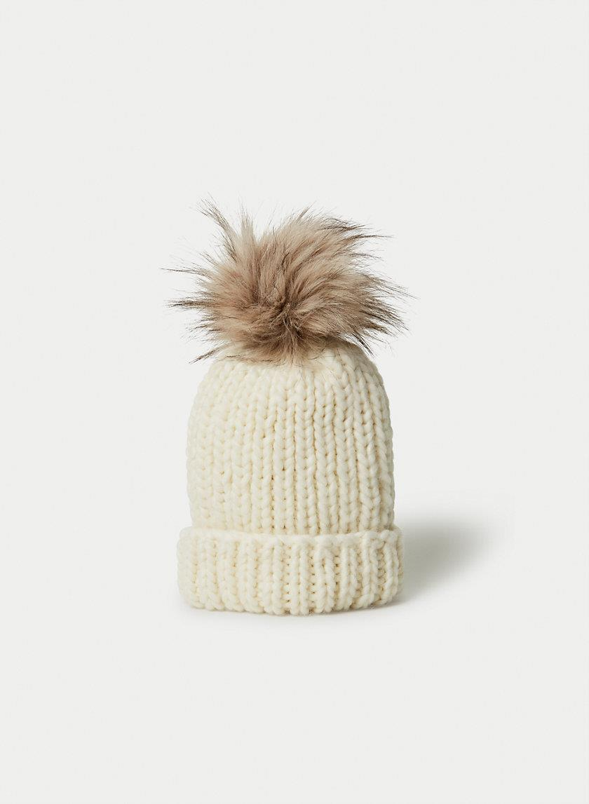 Main Character Chunky Pom Beanie Hat