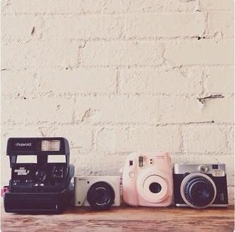 home accessory polaroid camera camera