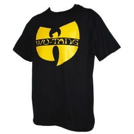 Tee-Shirt Wu Wear Logo Wu-Tang Clan Noir - Achat et vente neufs ou d'occasion sur PriceMinister