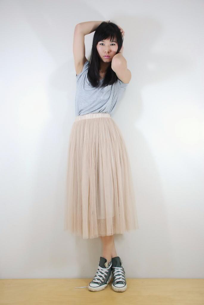 Ezzentric topz surprise: josie skirt