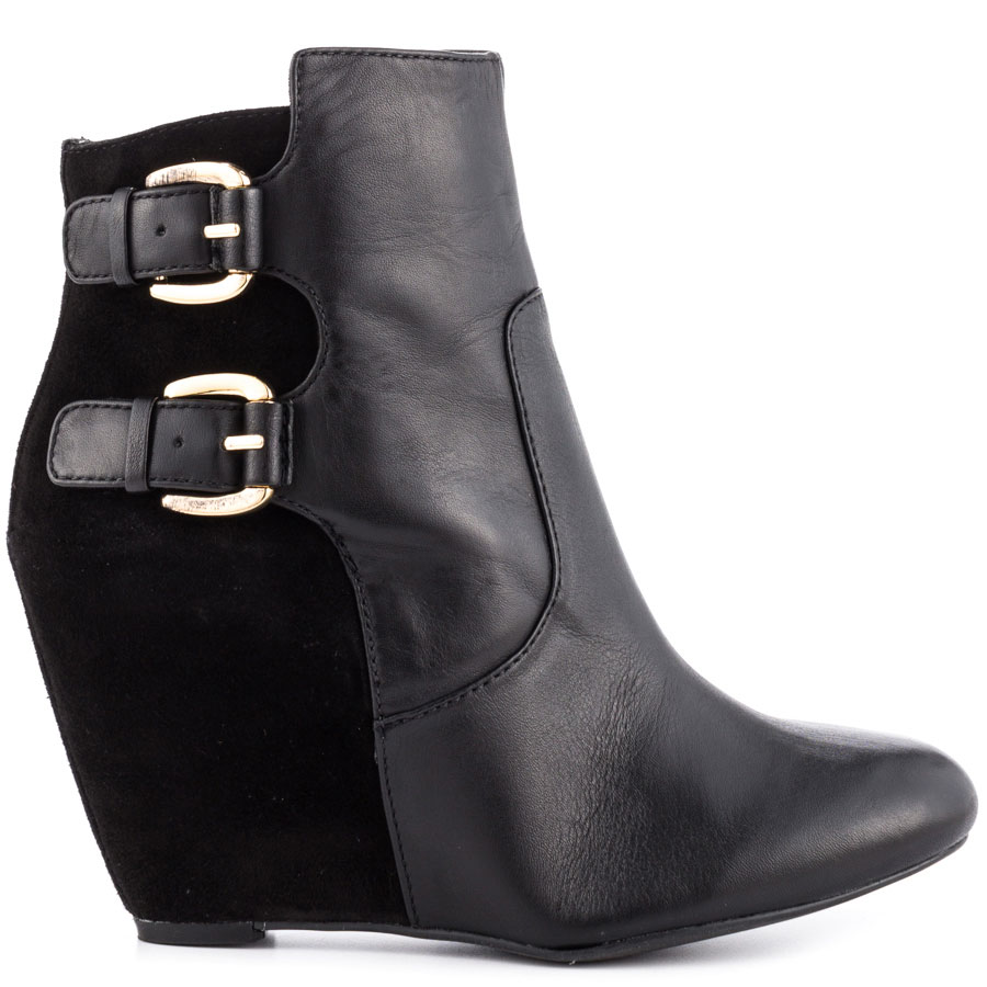 Black Trendy Ankle Boots | heels.com | Black Trendy Booties