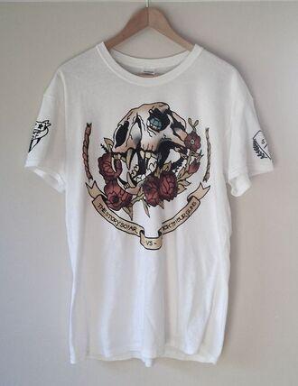 shirt merch tssf popunk punk skull