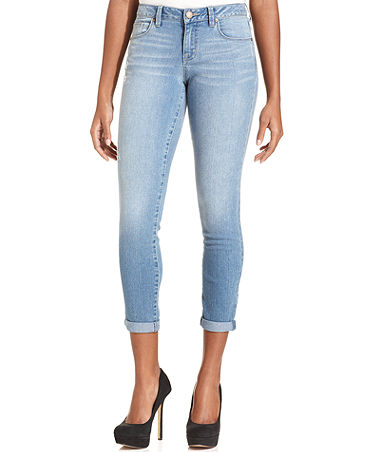 s&co. Skinny Cropped Jeans, Highline Wash - Women - Macy's