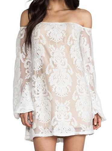 Come away with me off the shoulder white dress · love, fashion struck ·