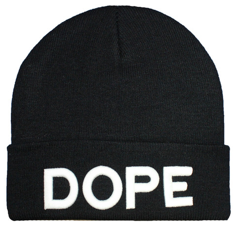 DOPE BEANIE HAT | FASHION SOUNDTRACK