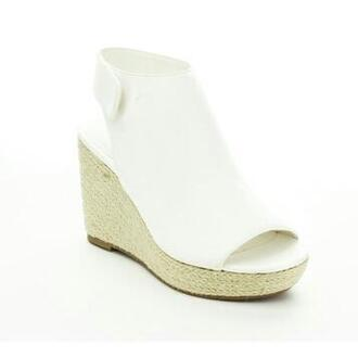 shoes wedges wedge heels white shoes espadrille shoes heels peep toe shoes