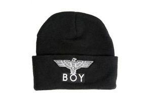 BOY London Beanie IN Black Osfa | eBay