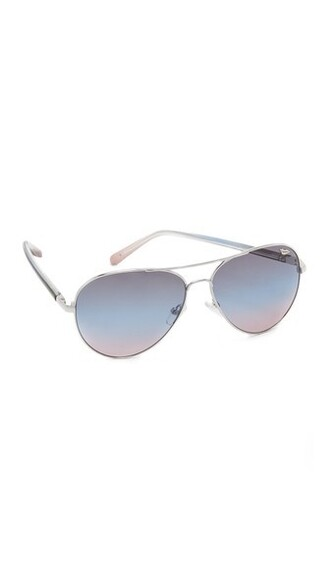 sunglasses blue pink