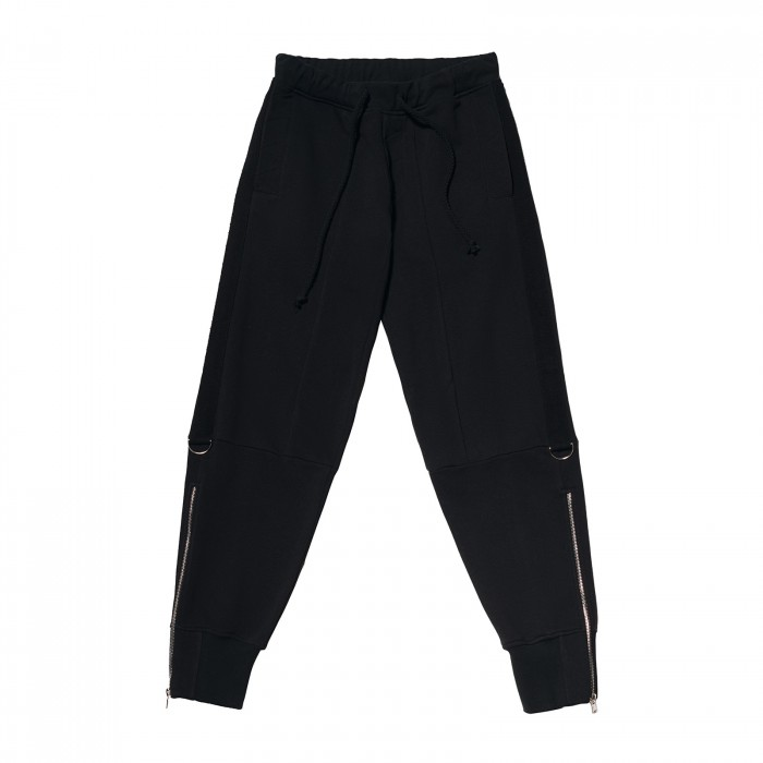 Balck Outside Men's Pants