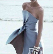 dress,dress blue pastel shape cuts style couture