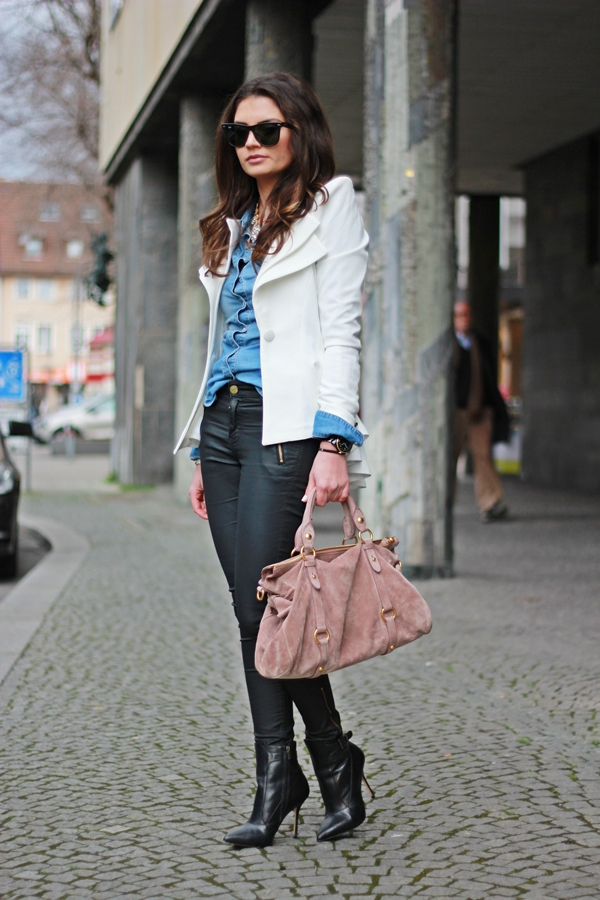 FashionHippieLoves: going out with my bow bag