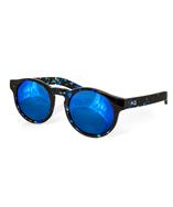 Aqs Unisex Bennie Round Keyhole Sunglasses | Bluefly.Com