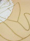 sirenlondon — Chain of Heart Necklace