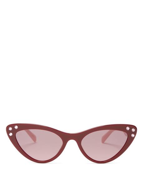 sunglasses red