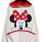 New cute mickey minnie mouse ear emo sweater top shirt hoody jumper hoodie sml | ebay