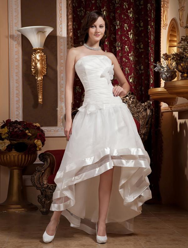 a-line wedding dresses organza wedding dress