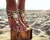 shoes,beach shoes,beach holidays,beach bride,bride,nelipots,barefoot sandals,beach wedding barefoot sandals,belly dance