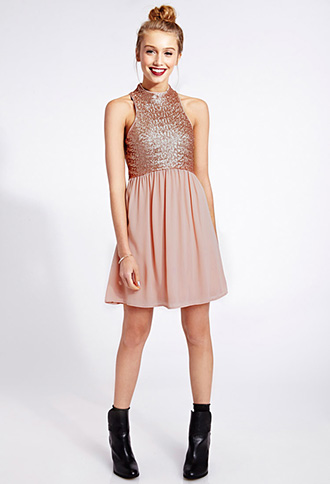 Dazzling Darling Sequined Dress | FOREVER21 - 2000091768