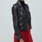 Zip leather jacket - jackets for women | mango usa