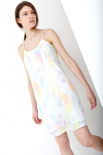 Pastel Acid Wash Cami Dress -  from Lavish Alice UK