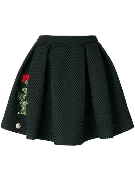 PHILIPP PLEIN skirt mini skirt mini rose women black