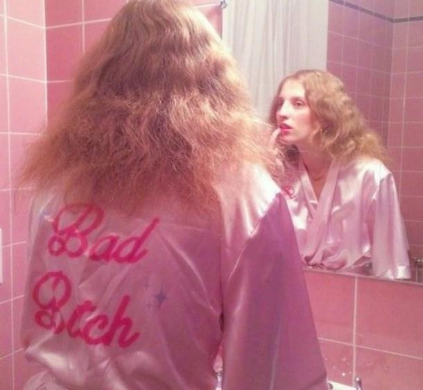 pajamas jacket underwear robe pink