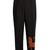 Tiger-appliqué wide-leg wool-blend trousers