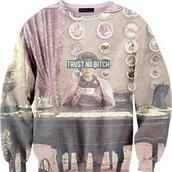 sweater,dolores umbridge,trust no bitch,clothes,harry potter