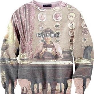 sweater dolores umbridge trust no bitch clothes harry potter