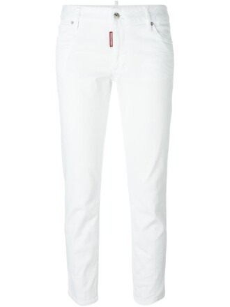 jeans cropped jeans cropped white