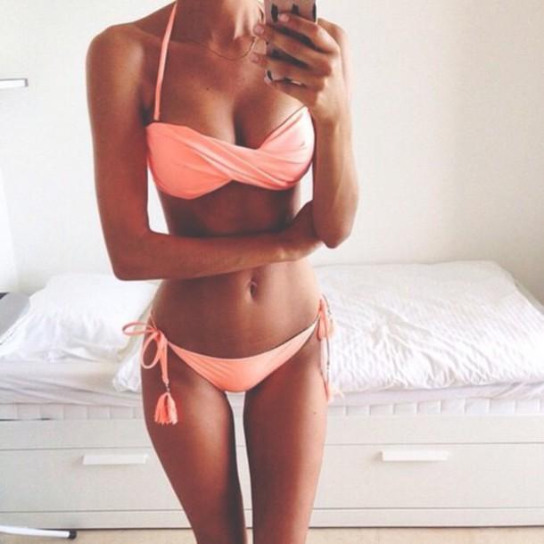 Swimwear Coral Pretty Bikini Bikini Top Bikini