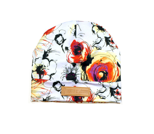 Floral printed beanie | Created by Fortune