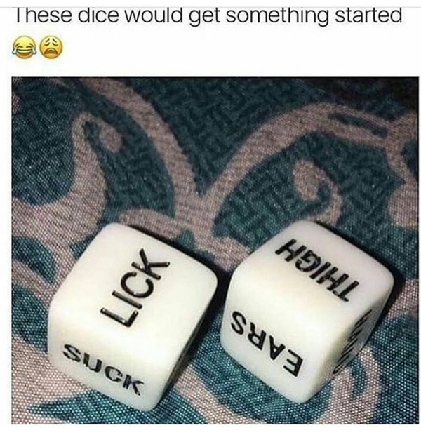 Home accessory: dice, sexual, game